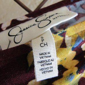 Jessica Simpson Dresses - JESSICA SIMPSON Maxi Floral Maternity Dress